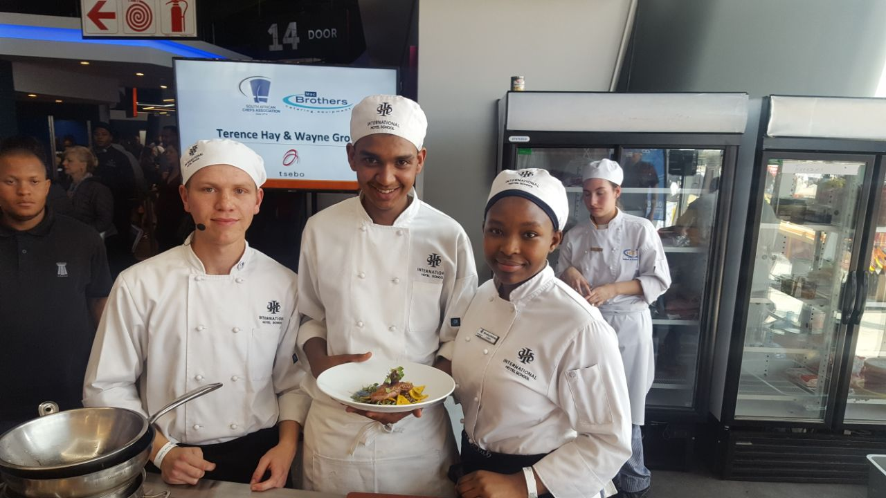 Sizzling Cook-off at the Appetite Festival 1 - International Hotel School