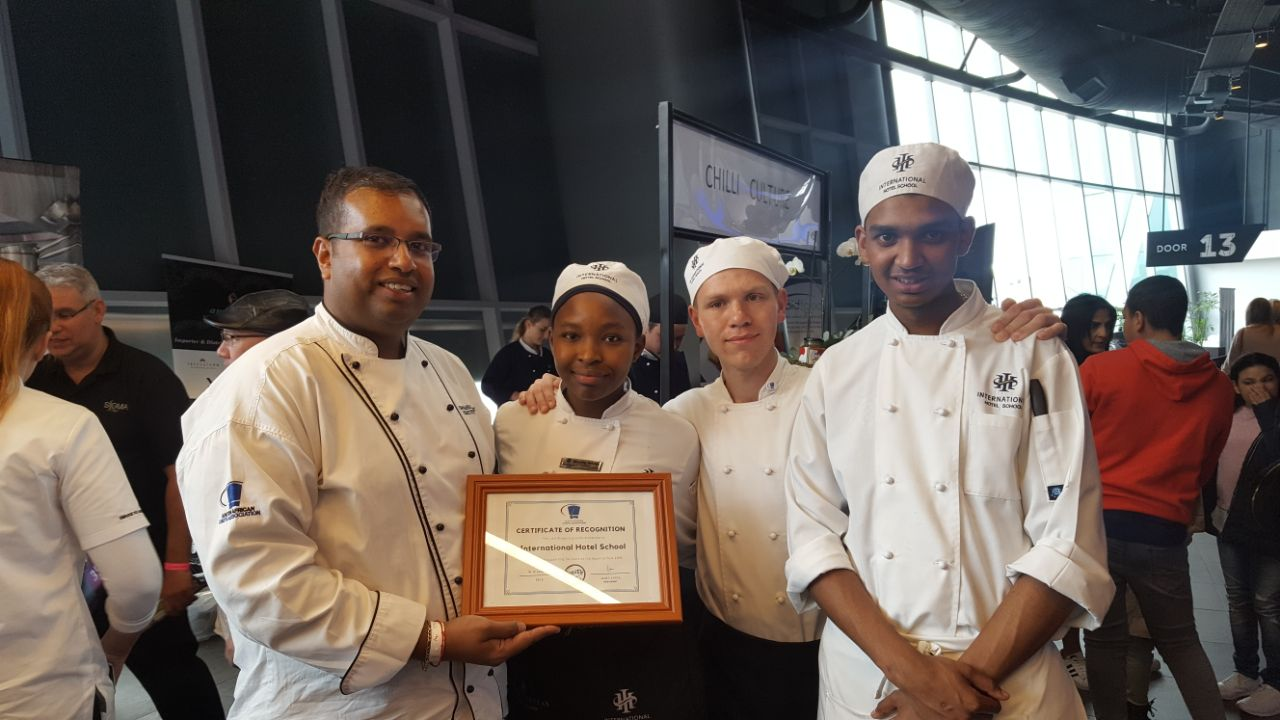 Sizzling Cook-off at the Appetite Festival 2 - International Hotel School